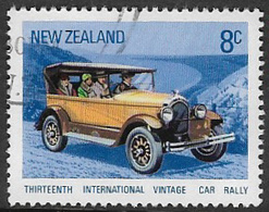 New Zealand SG976 1972 International Vintage Car Rally 8c Good/fine Used [37/30608/4D] - New Zealand