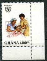 Ghana 1988 C100  Imunization Issue #1054 - Ghana (1957-...)