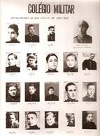 Lisboa - Colégio Militar - Conjunto De Fotos Dos Alunos Do Ano Lectivo De 1937-1938 No 50º Aniversário Em 24-05-1988 - Alte Papiere