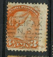 Canada 1888 3 Cent Queen Victoria Issue #41 Halifax Cancel - Used Stamps