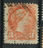Canada 1888 3 Cent Queen Victoria Issue #41 Goderich Ont Cancel - Used Stamps