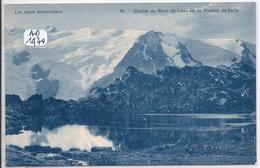 LES DEUX-ALPES- GLACIER DU MONT DE LANS- VU DU PLATEAU DE PARIS - France
