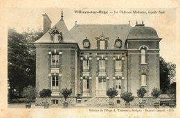91. CPA.  VILLIERS SUR ORGE. Le Chateau Moderne, Coté Sud. - France