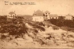 CPA OOSTDUINKERKE. Dans Les Dunes, Villas Jean, Mariette, Hermitage. 1933. - Oostduinkerke