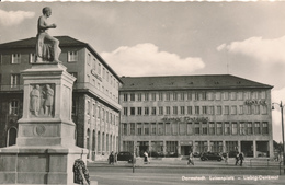 DARMSTADT - Luisenplatz , Liebig-Denkmal - Allemagne