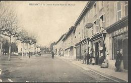 Mézeriat  La Grande Rue  Et Place Du Marché - France