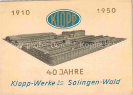 42766687 Wald Solingen Klopp Werke Solingen - Solingen