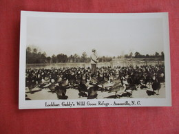 RPPC  Lockhart Gaddy's Wild Goose Refuge Ansonville  North Carolina >  Ref 2934 - United States