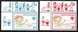 Nations-Unies, New-York, 302 Et 303** Année De L'enfant - New York -  VN Hauptquartier