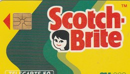 TELECARTE  50.  SCOTCH BRITE - France