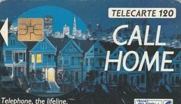 TELECARTE  120.   CALL HOME - France