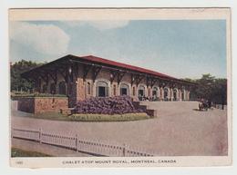Montréal Québec Canada - Chalet Mount Royal - Folkard - Written In 1947 - Stamp & Postmark - 3 Scans - Montreal