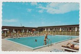 Hôtel Motel Cap-aux-Pierres Isle Aux Coudres Charlevoix Québec - Swimming Pool - Unused - VG Condition - 2 Scans - Quebec