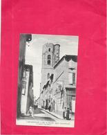 CARCASSONNE - 11 - Rue Du Marché Eglise Saint Vincent - LYO87/ROUIL - - Carcassonne