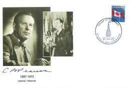 1997 Lester B Pearson  Dilplomat, Nobel Peace Prize Winner, Prime Minister Of Canada S24a-c - Commemorativi