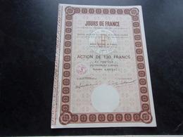 Société De Presse JOURS DE FRANCE - Shareholdings