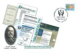 2001- Canadian Medical Protective Association S46 - Enveloppes Commémoratives