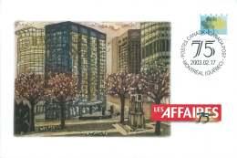 2003- Les Affaires Financial Newspaper S52 - Gedenkausgaben