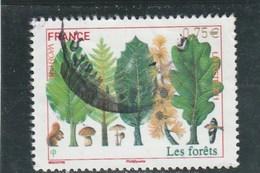 FRANCE 2011 EUROPA LES FORETS OBLITERE CENTRE YT 4551 - - France