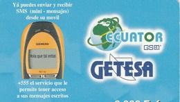 ECUATOR   3 000 FCFA     GETESA - Ecuador