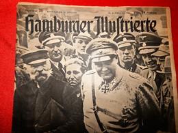 Hamburger Illustrierte No 33, Avgust 1943. German Army, WW2 - 1939-45