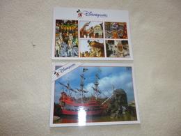 2 CARTES ..DISNEYLAND...PARADE ET ADVENTURELAND - Disneyland