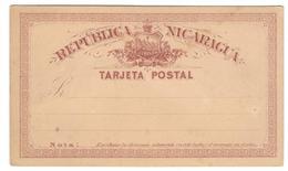 1787 - Entier - Nicaragua