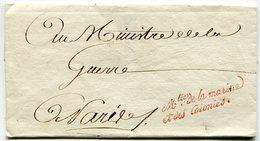 Marque Sénéchal N°928 Et N°930 Ministre De La Marine Et Des Colonies Sur LSC - Marcophilie (Lettres)