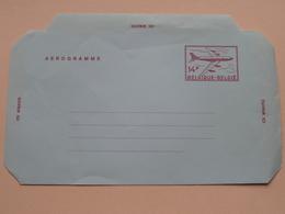 Aerogramme / Belgique 14 F België ( Zie Foto ) - Airmail