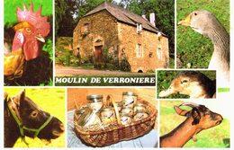 Lafage-sur-sombre - Moulin De Verronière - Gavage D'oies Et Canards - Chèvre - Coq - Oie - Foie Gras - France