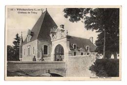 41 LOIR ET CHER - VILLEHERVIERS Château De Trécy (voir Descriptif) - Francia