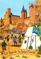 CPSM Cité De Carcassonne-La Légende Dame Carcas       L2584 - Carcassonne