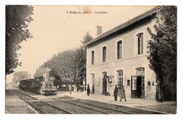 41 LOIR ET CHER - TROO La Gare (voir Descriptif) - Frankreich