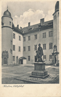 KÜSTRIN / KOSTRZYN - 1943 , Schlosshof - Neumark