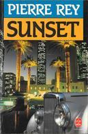 """""""SUNSET""""--Pierre REY--Le Livre De Poche 1988-BE/TBE - Books, Magazines, Comics"""