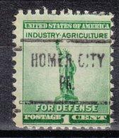 USA Precancel Vorausentwertung Preo, Locals Pennsylvania, Homer City 724 - Vereinigte Staaten