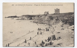 29 Le CONQUET - Plage De Porstrez Et Pointe De Kermorvan--RECTO/VERSO- B5 - Le Conquet