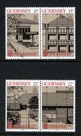 GB GUERNSEY - 1987 EUROPA CEPT MODERN ARCHITECTURE SET (4V) FINE MNH ** SG 394-397 - Guernsey
