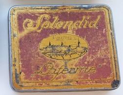 Vintage USSR Russia - Estonia Metal Cigarette Tobacco TIN BOX - Porta Sigarette (vuoti)