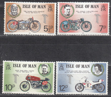 ISLE OF MAN     SCOTT NO. 66-69     MNH     YEAR  1975 - Isle Of Man