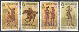ISLE OF MAN     SCOTT NO. 78-81     MNH     YEAR  1976 - Isle Of Man