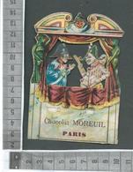 CHROMO DECOUPEE / CHOCOLAT MOREUIL PARIS / LE PETIT THÉÂTRE DE GUIGNOL - Chocolat