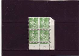 N° 1231 - 0,10F PAYSANNE - K De K+L - 2° Tirage/1° Partie Du 22.11.61 Au 19.12.61 - 26.11.1961 - (exemplaire N° 2) - Coins Datés