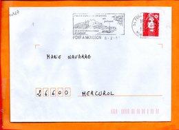 MEURTHE ET MOSELLE, Pont à Mousson, Flamme SCOTEM N° 10367 - Marcophilie (Lettres)