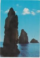 LIPARI - Isole Eolie (Sicilia) I Faraglioni, 1989 Used Postcard [21111] - Italy