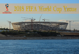 [T31-002 ] 2018 Russia FIFA World Cup Soccer Football Venue Stadium , China Pre-stamped Card, Postal Stationery - World Cup