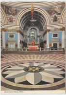 Mosta Parish Church, Malta, Unused Postcard [21112] - Malta