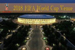 [T31-005 ] 2018 Russia FIFA World Cup Soccer Football Venue Stadium , China Pre-stamped Card, Postal Stationery - World Cup