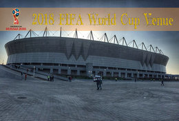[T31-008 ] 2018 Russia FIFA World Cup Soccer Football Venue Stadium , China Pre-stamped Card, Postal Stationery - World Cup