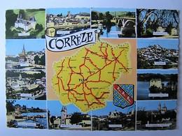 FRANCE - CORREZE - Carte Et Vues - France